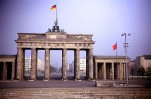 The Brandenburg Gate from the West 1966